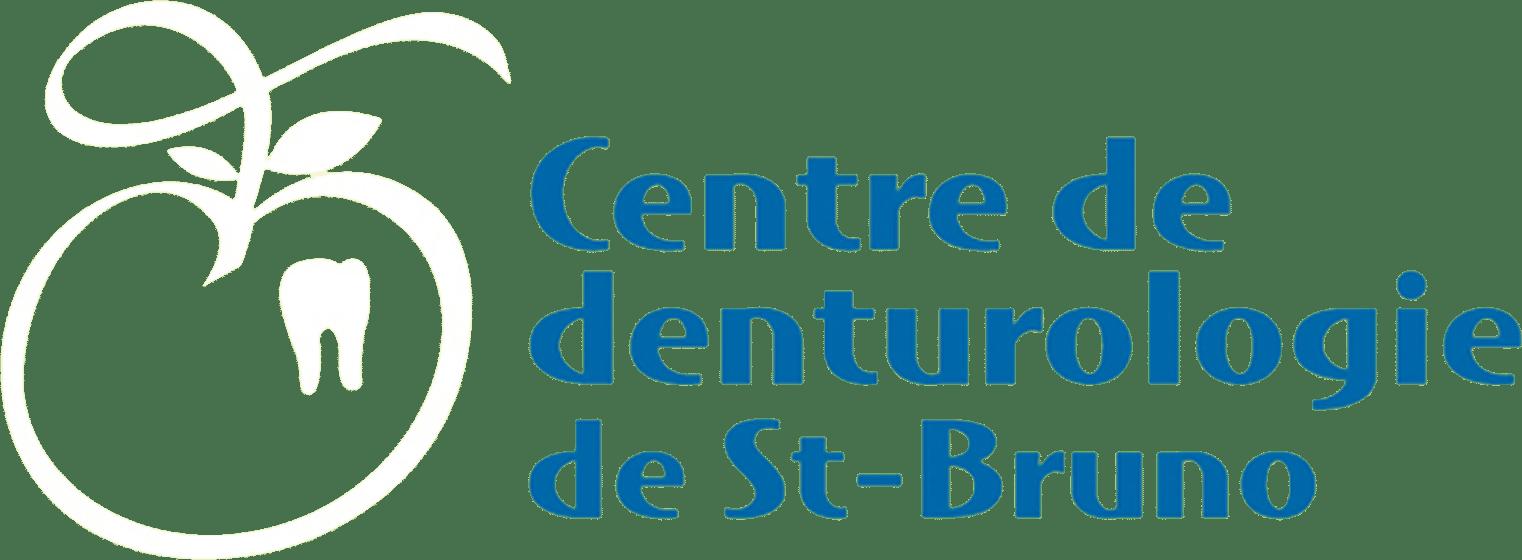 Centre Denturologie St Bruno Logo Blanc